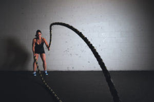 battle rope conditioning at vector health